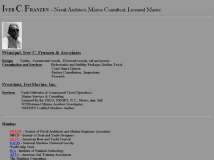 Cached version of Iver C. Franzen & Associates
