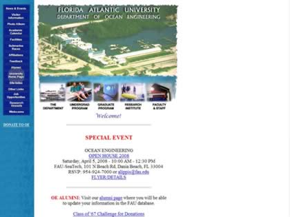 Cached version of Florida Atlantic University