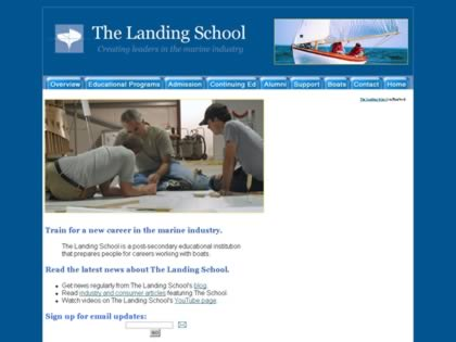 Cached version of The Landing School
