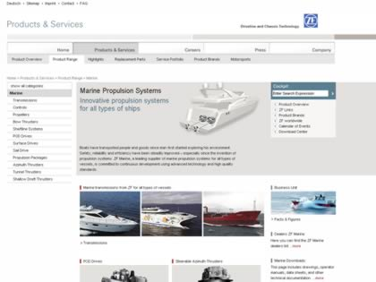 Cached version of ZF Marine