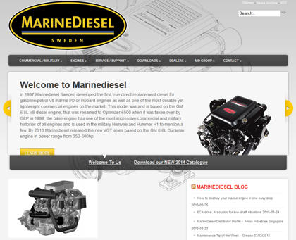Cached version of Marinediesel Sweden