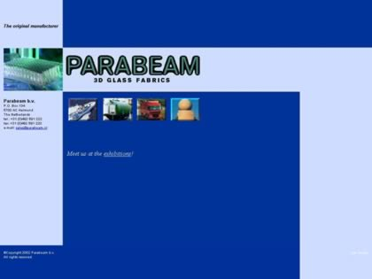Cached version of Parabeam 3D-Glass