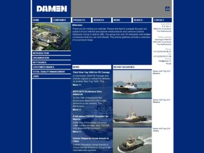 Cached version of Damen Shipyards Group