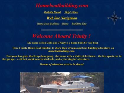 Cached version of Homeboatbuilding.com