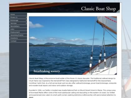 Cached version of Classic Boat Shop