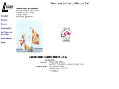 Cached version of Linthicum Sailmakers
