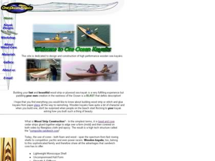 Cached version of One Ocean Kayaks