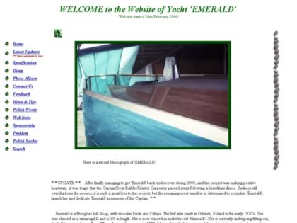 Cached version of Yacht Emerald Undergoing Construction