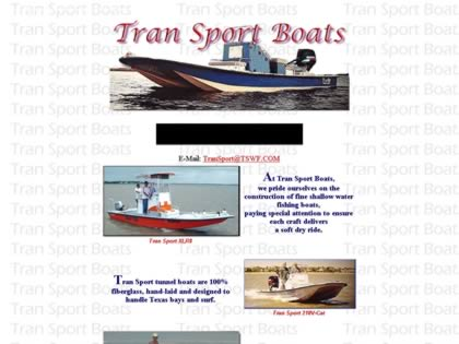 Cached version of Tran Sport Boats