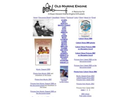 Cached version of OldMarineEngine.com - pre-1940 inboards