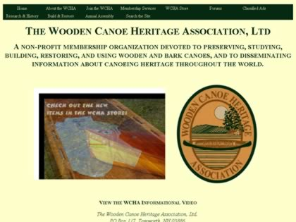 Cached version of Wooden Canoe Heritage Association