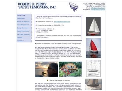 Cached version of Robert H. Perry Yacht Designers Inc.