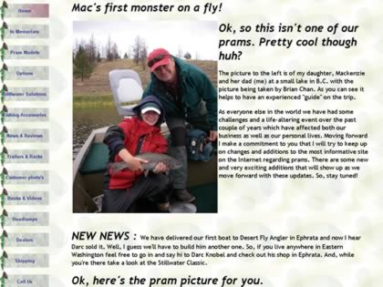 Cached version of Spring Creek Fly Fishing Prams