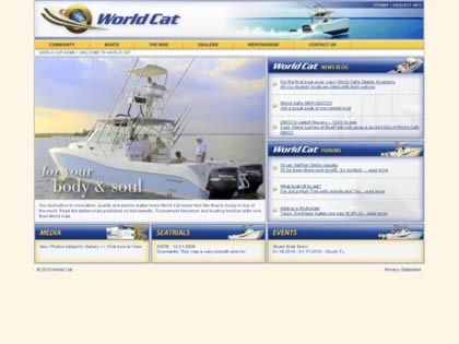 Cached version of World Cat Offshore Powerboats