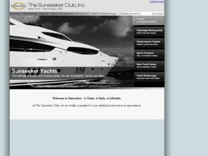 Cached version of Sunseeker Yacht Sales