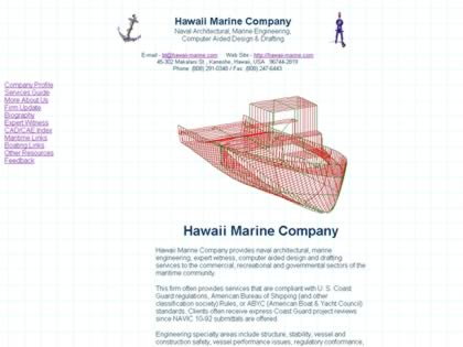 Cached version of Hawaii Marine Company