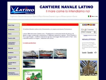 Cached version of Cantiere Navale Latino Pietro & Figli