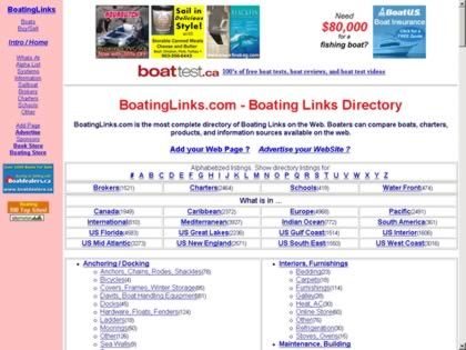 Cached version of BoatingLinks