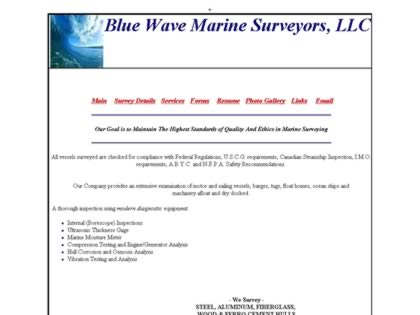 Cached version of Bluewave Marine  Surveyors