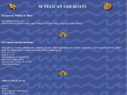 Cached version of San Francisco Pelican Sailboats
