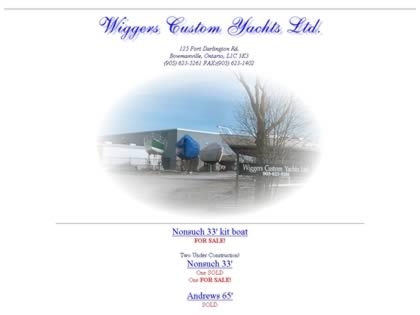 Cached version of Wiggers Custom Yachts Ltd.