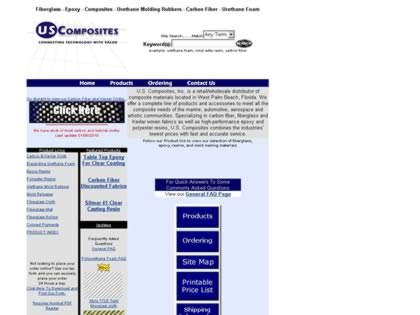 Cached version of U.S. Composites, Inc.