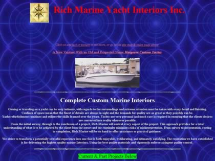 Cached version of Rich Marine Yacht Interiors