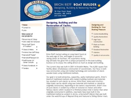 Cached version of Brion Rieff Boatbuilder