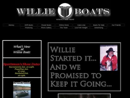 Cached version of Willie Boats