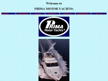 Cached version of Prima Motor Yachts
