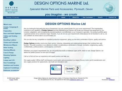 Cached version of Design Options Marine