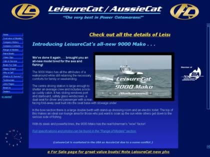 Cached version of AussieCat Power Catamarans