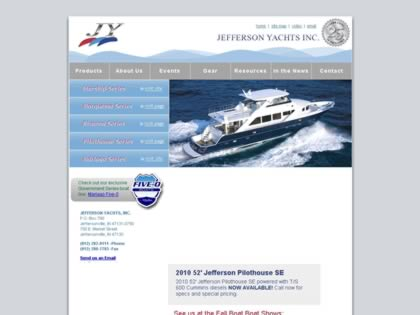 Cached version of Jefferson Yachts