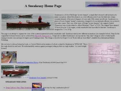 Cached version of A Sneakeasy Home Page