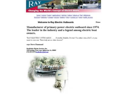 Cached version of Ray Electric Outboards