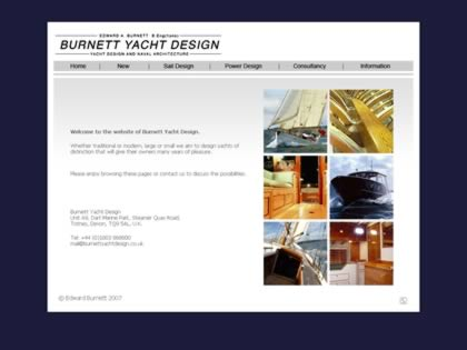 Cached version of Burnett Yacht Design