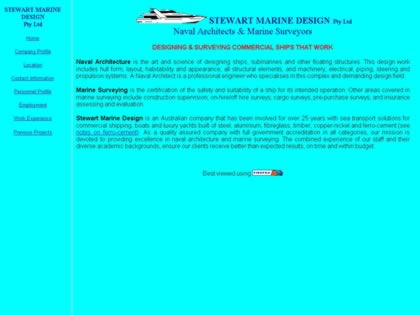Cached version of Stewart Marine Design