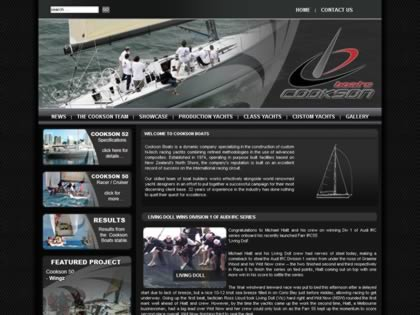 Cached version of Cookson Boats Ltd New Zealand
