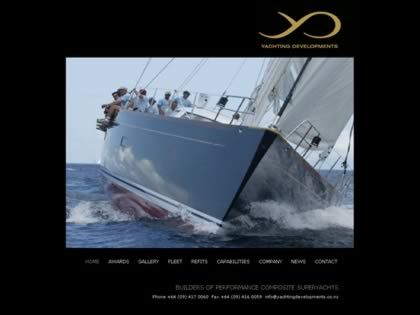 Cached version of Yachting Developments NZ Ltd.