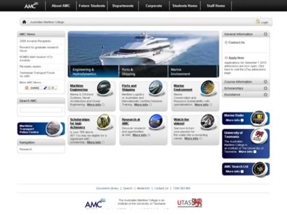 Cached version of Australian Maritime College