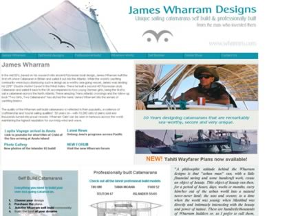 Cached version of James Wharram Catamarans