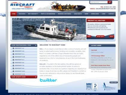 Cached version of Ribcraft Rigid Inflatables