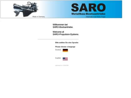 Cached version of SARO Drive Systems