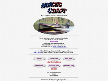Cached version of Norris Craft Bass Boats