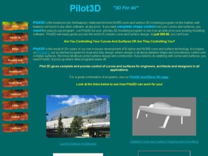 Cached version of Pilot3D