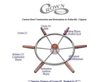 Cached version of Crown Marine
