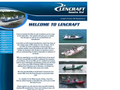Cached version of Lencraft Boats Ltd.