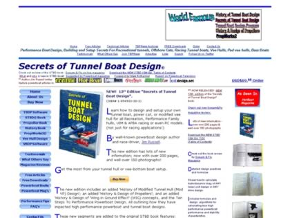 Cached version of Secrets Of Tunnel Boat Design