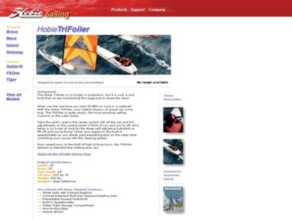 Cached version of the Hobie Trifoiler