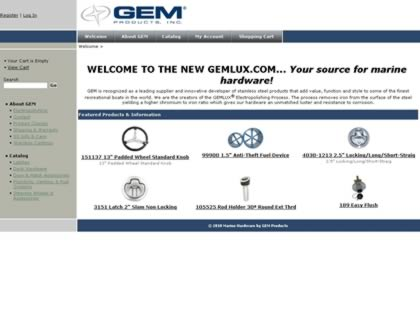 Cached version of GEM Products